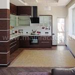 Вид на кухню-столовую