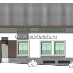 Проект дизайна фасада