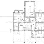 """Коттедж в стиле """"Арт-деко"""", план второго этажа"""