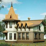 Проект дизайна фасадов