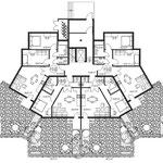 Вариант 2, план первого этажа