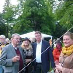 Hans Pflug, CAGrundei, Uwe Gerste, Katharina Junk  3. KunstraumGRÜN 2014