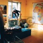 Direktor des WLM besucht die cubus kunsthalle (-: