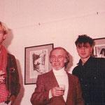 Galerie November - Gründung und Leitung Claudia A. Grundei - Ausstellung mit Hannes Loos, Mischa Kuball, Willi Kissmer, Martin Knipphals - 1982