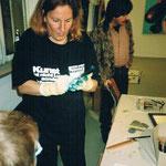 Radierkurse in der cubus kunsthalle mit CAGrundei