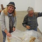 Teil des Projekts You and Me Shop von Saito Takako mit 10 Duisburger Künstlern zur Ausstellung Kunst u Kapital im Wilhelm Lehmbruck Museum2014 - Hans im Glück