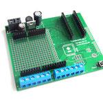 ArduiBox PCB assembled for Arduino Nano
