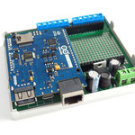 ArduiBox with stacked Arduino Yun Rev 2