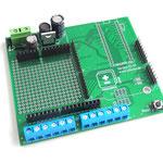 ArduiBox PCB assembled for Arduino UNO / Yun