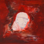 Robert Stolz      Collage  Acryl auf Leinwand  40 x 40  CHF 250