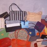 Taschen     Acryl auf Leinwand    80 x 100   CHF 900