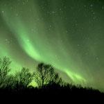 Polarlicht über der Insel Andøy, Norwegen. 2003 © Robert Hansen. Link in die Fotogalerie
