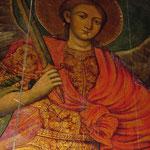 Wandmalereien im Kloster von Decani, Oktober 2001 © Robert Hansen. Link in die Fotogalerie