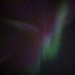 Farbenspiel am Nachthimmel. Svartskard, Norwegen. 2014 © Robert Hansen. Link in die Fotogalerie