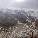 Der erste Schnee im Bistricatal im Süden des Kosovo, November 2001 © Robert Hansen. Link in die Fotogalerie