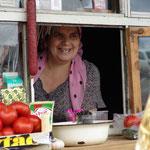Kiosk in einem Flüchtlingscamp in Inguschetien © Robert Hansen, Link in die Fotogalerie
