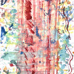 Inspired by children / 2016 / Poster Color on Paper / 38.2×54.2cm