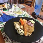 Filet de loup des Caraïbes en croute d'épices