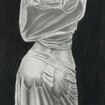 Reverso – Grafito en papel Canson -  42x 52.4