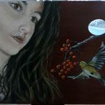 Aldara I – Oleo sobre tabla pintor – 34x25