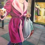 Shoppingday: 100x150. Oleo lienzo