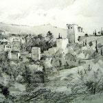 La Alahambra – Grafito s/papel