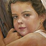 La petite Helena - Óleo sobre lienzo – 38 x 51