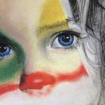 Carnaval.- Pastel y grafito sobre papel canson.- 24x32