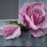 Rosas – Oleo sobre lienzo – 80X50