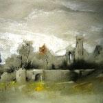Ruinas – Pastel s/papel