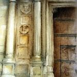 Puerta – Pastel s/papel