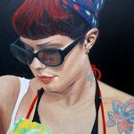 Rockabilly - Óleo sobre lienzo - 115x90