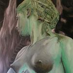 La dama del Agua - Expo 2008 - Óleo sobre lienzo - 73x60