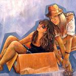 Mudanza - Óleo sobre lienzo – 70 x 50