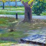 Jardín Botánico – Óleo sobre DM – 50x50