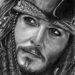 Jack Sparrow - Grafito - 21x30