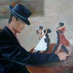 Melancolia – Oleo sobre lienzo – 55x46