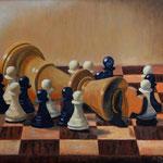 Revolución (óleo sobre tabla), 60 x 50