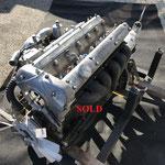 23 Jaguar XK150 3.4 motor + bak SOLD