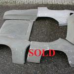 40 Lancia Fulvia Sport Zagato plaatwerk set aluminium NOS V2 SOLD