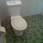 レンボンガン島 ロスメン PACIFIC INN ロスメンタイプ トイレ