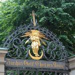 Portal zur dt. Kirche in Stockholm