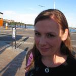 Ich am Terminal Stockholm