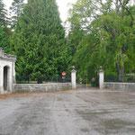 Einfahrt Schloss Balmoral