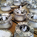 A995 GR 5A machined pumb bowls for axial subsea pumps
