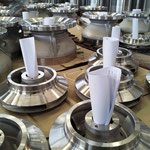 A995 GR 5A fully machined components for axial pumps (impellers, pump bowls)