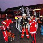 Training mit der FFW Traunstein