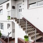 Treppengeländer stahl verzinkt