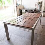 Tisch Edelstahl