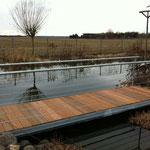 Gartenbrücke Stahl